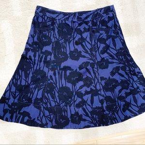 Marc Jacobs Floral Cotton a-line skit Sz 0